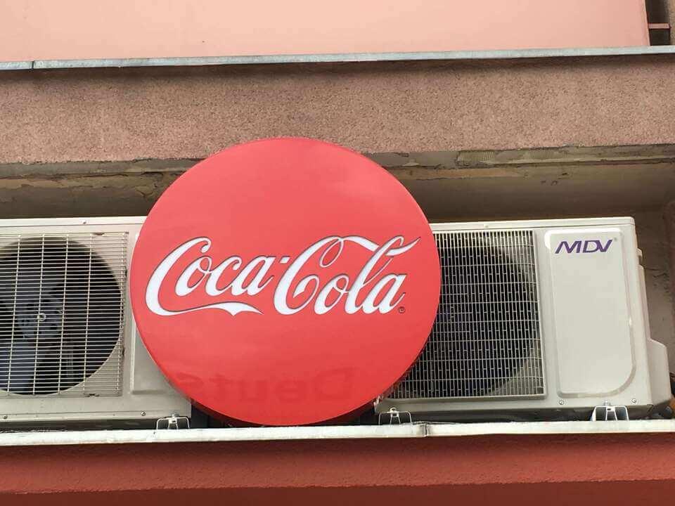 CocaCola- Kaseton