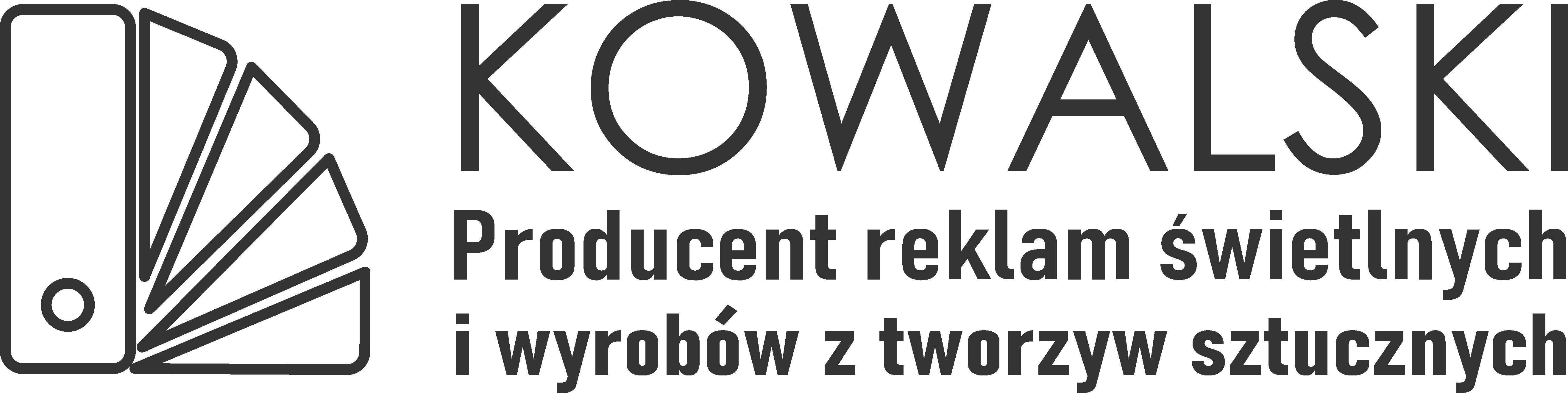 Kowalski Producent Reklam Świetlnych i Wyrobów z Tworzyw Sztucznych | Szczecin Reklama